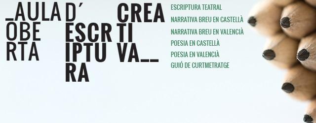 La Universitat de Valencia, amb voluntat de promoure l'escriptura de creació dins l'àmbit universitari, organitzaanualment, els tallers de l'Aula oberta […]